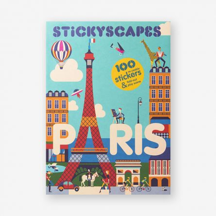 Stickyscapes Paris