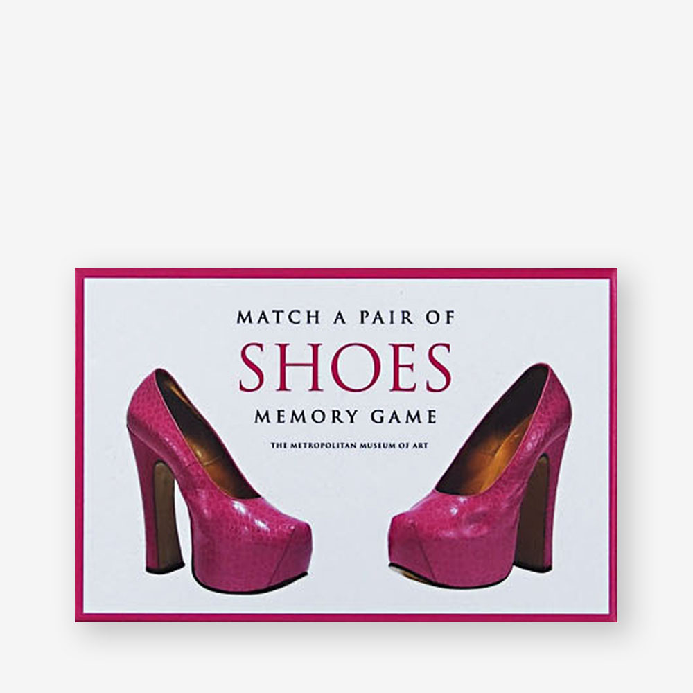 d2fe164c5694 Match a Pair of Shoes Memory Game - Laurence King US