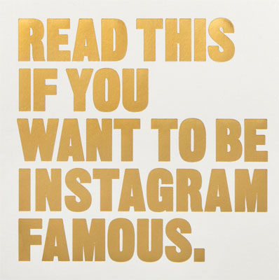 Read This if You Want to Be Instagram Famous - Product Thumbnail