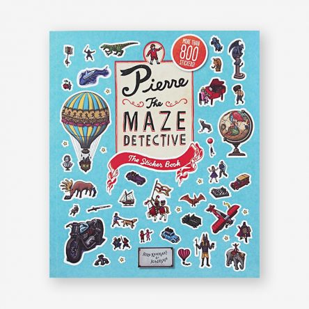 Pierre the Maze Detective: The Sticker Book