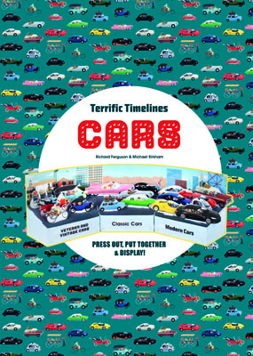 Terrific Timelines: Cars - Product Thumbnail