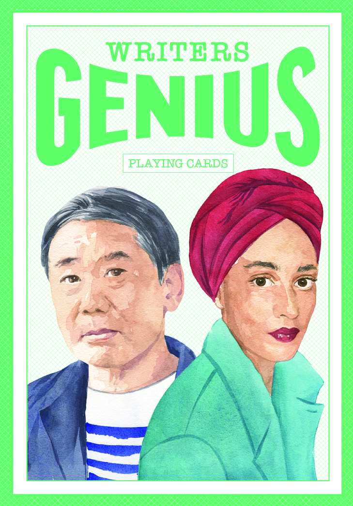 Genius Writers (Genius Playing Cards) - Product Thumbnail