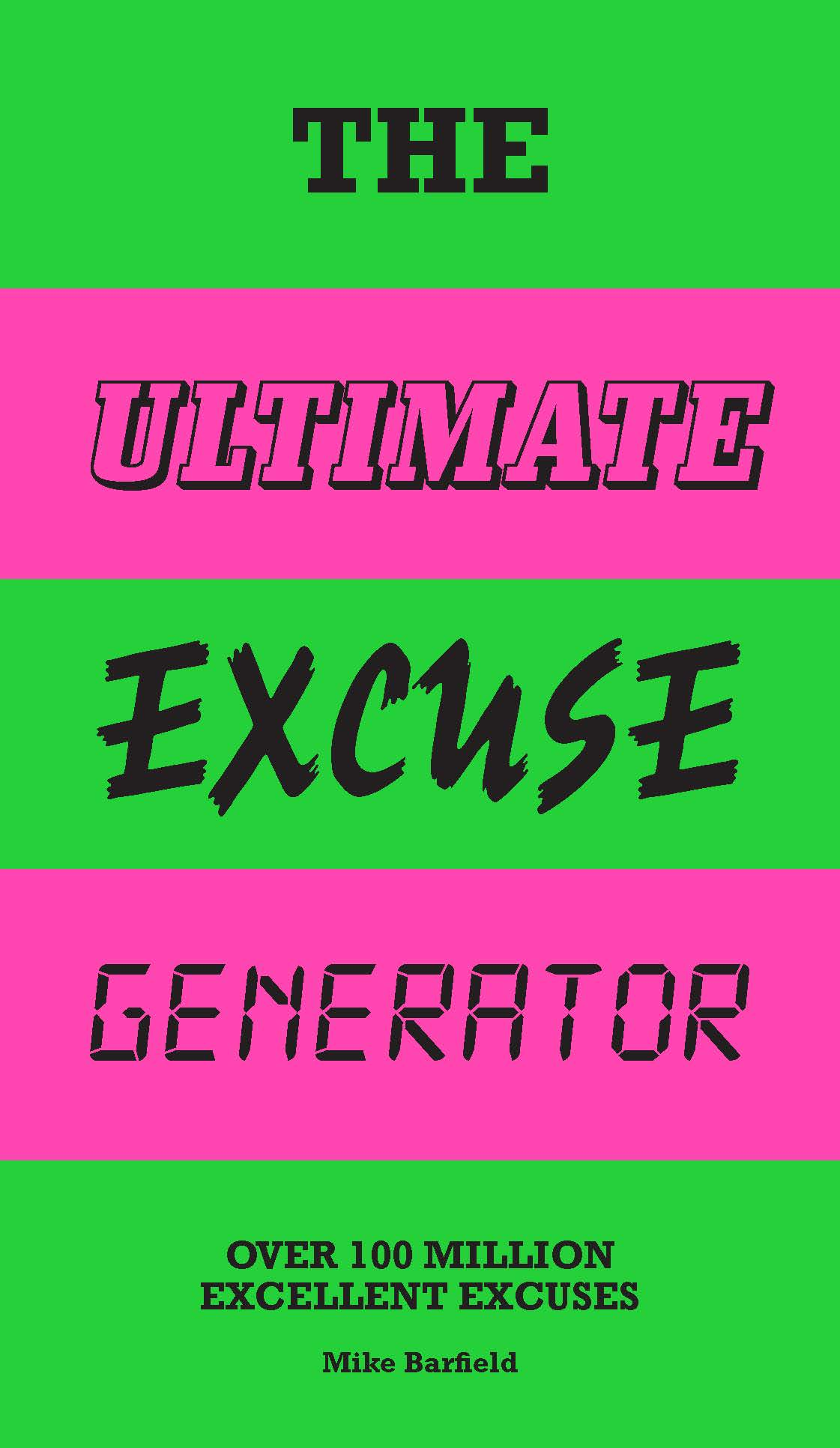The Ultimate Excuse Generator - Product Thumbnail