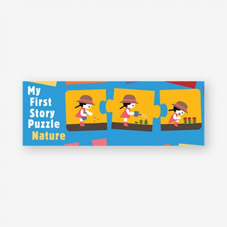 My First Story Puzzle: Nature