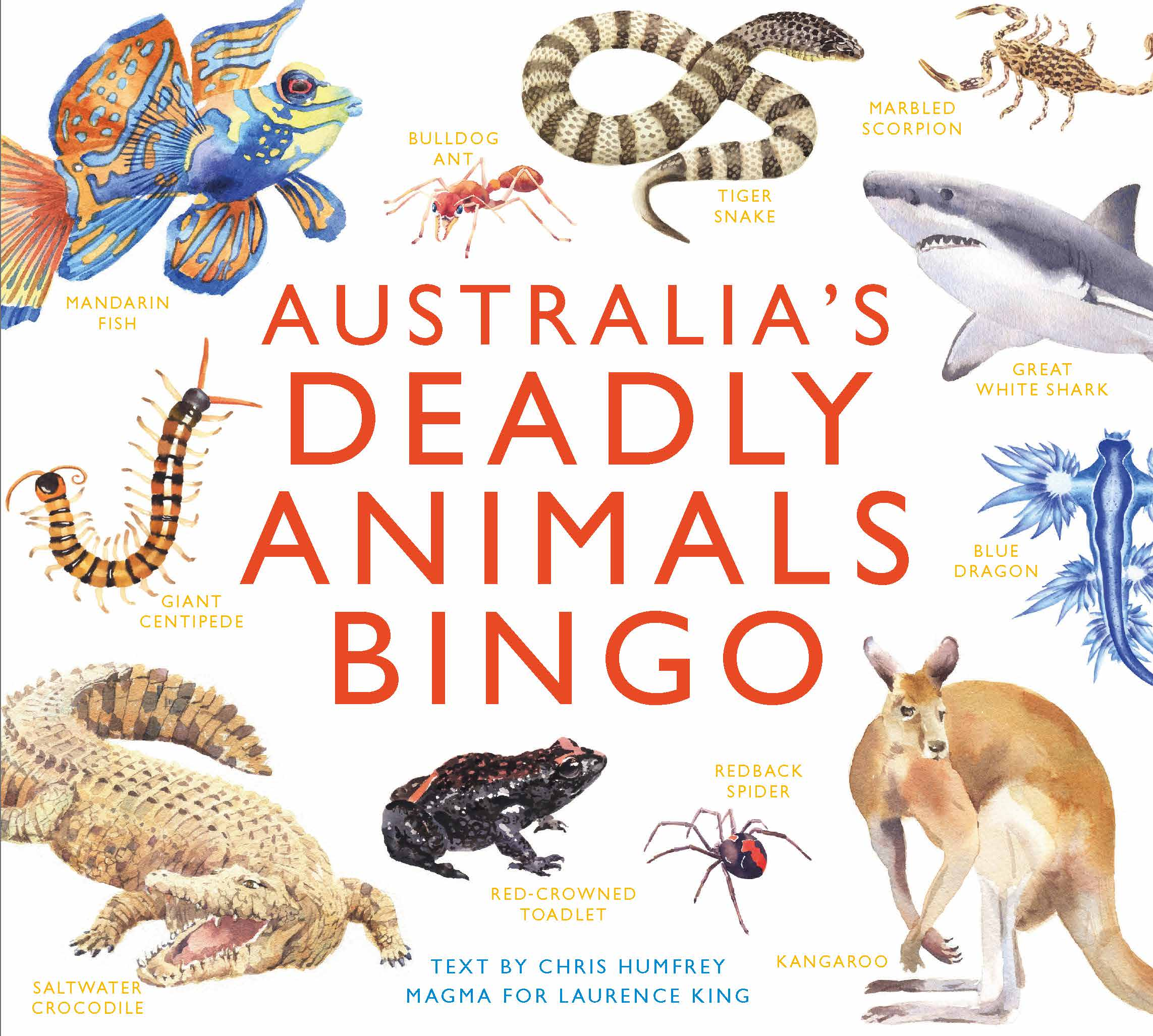 Australia's Deadly Animals Bingo - Product Thumbnail
