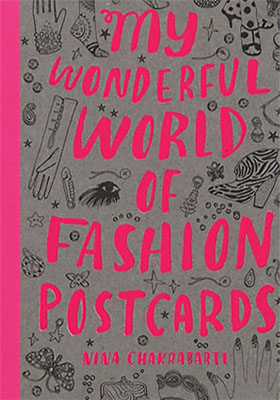 My Wonderful World of Fashion Postcards - Product Thumbnail