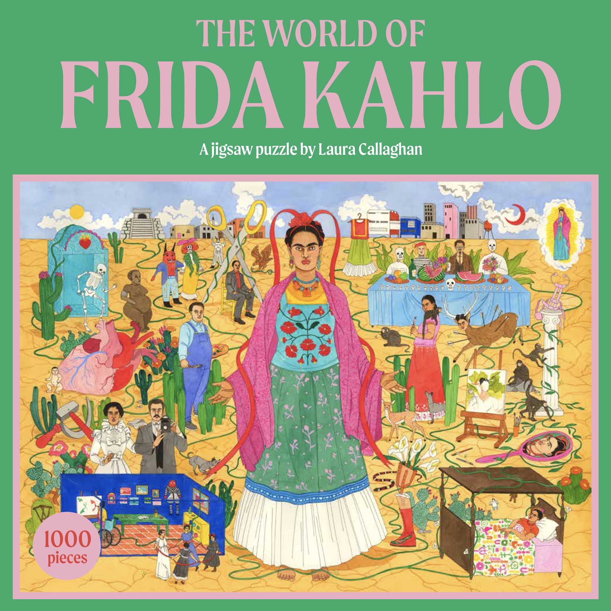 The World of Frida Kahlo: A Jigsaw Puzzle - Product Thumbnail