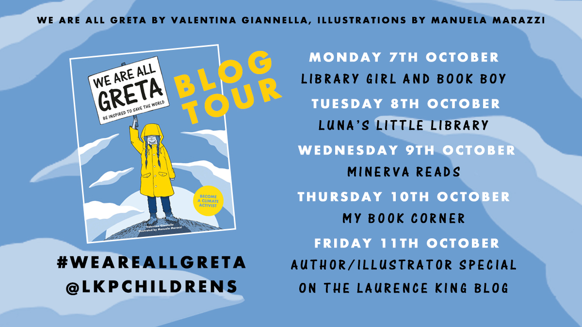 We Are All Greta Blog Tour Poster