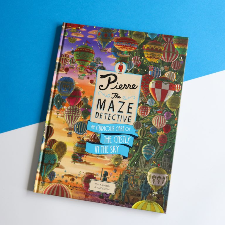 Pierre Maze Detective: The Curious Case of the Castle in the Sky