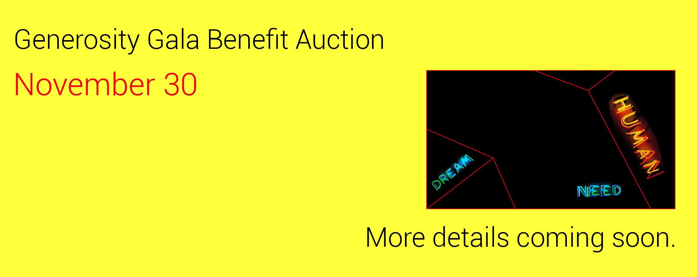 benefit auction