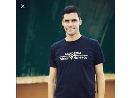 120 de minute de antrenament, cu fostul jucător de tenis Victor Hănescu