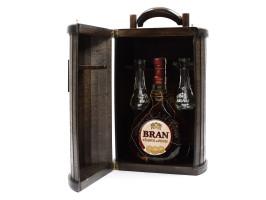 Bran, cutie de lemn, ediție de lux, 70 cl, 50% alcool