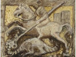 Saint George fighting the Dragon (Sfântul Gheorghe luptând cu Balaurul)
