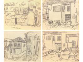 Houses in Veliko Tarnovo I, II, III & Kiril Nektariev Street (Case la Veliko Târnovo I, II, III & Strada Kiril Nektariev)