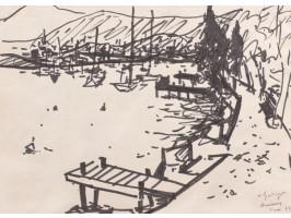 On the Dock (La Ponton)