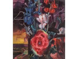 Flowers, Based on Jan Van Huysum (Flori, după Jan Van Huysum)