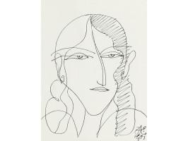 Portrait of a Young Girl (Portret de Fata)