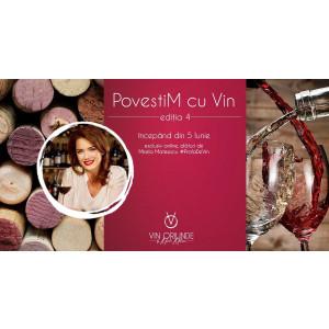 Curs de inițiere în vinuri, cu Mirela Mateescu, desfășurat online pentru o persoană