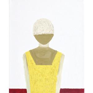Om în galben