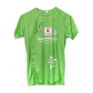 Tricou #TeamHospice, semnat de Ciprian Marica, Semimaraton 2018, disponibile măsurile S și M