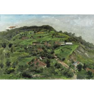 Hills at Tescani (Dealuri la Tescani)