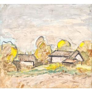 Landscape from Nucarilor Valley (Peisaj din Valea Nucarilor)