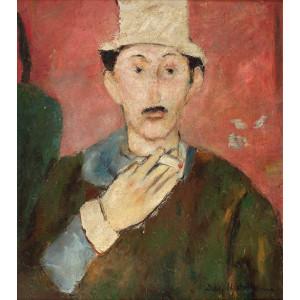 Self-portrait with Cigarette (Autoportret cu Ţigară)