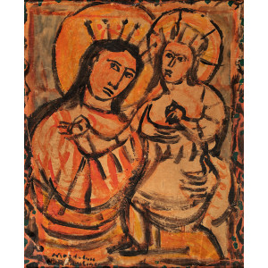 The Virgin and Child (Fecioara cu Pruncul)