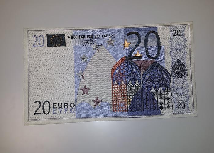 Patch Ricamata - 20 Euro