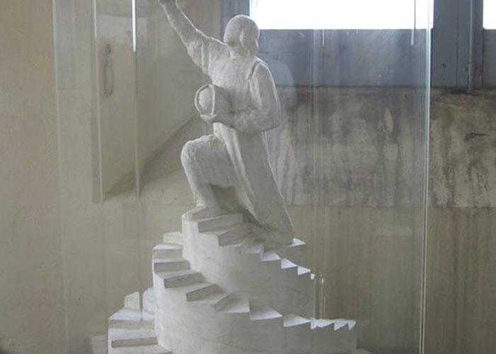 Teca per statua