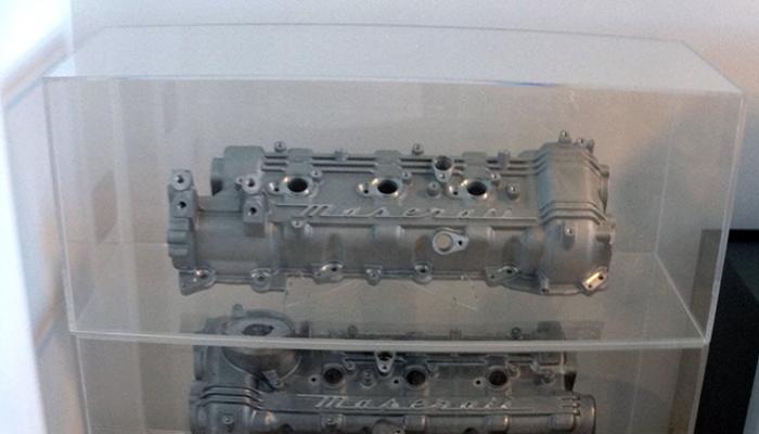 Teca per blocco motore Maserati