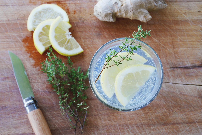 Limonade au gingembre et au thym - La Belle Assiette - Le Blog