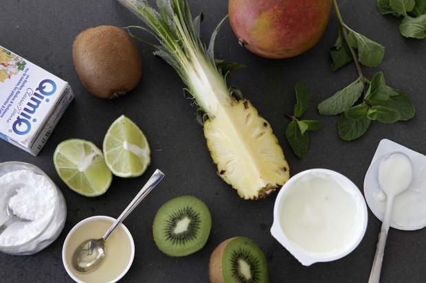 Sous-vide Fruchtsalat Zutaten