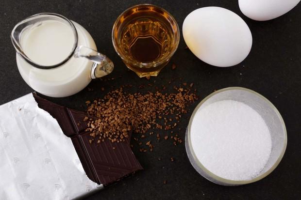 Zutaten für Irish-Coffee-Mousse