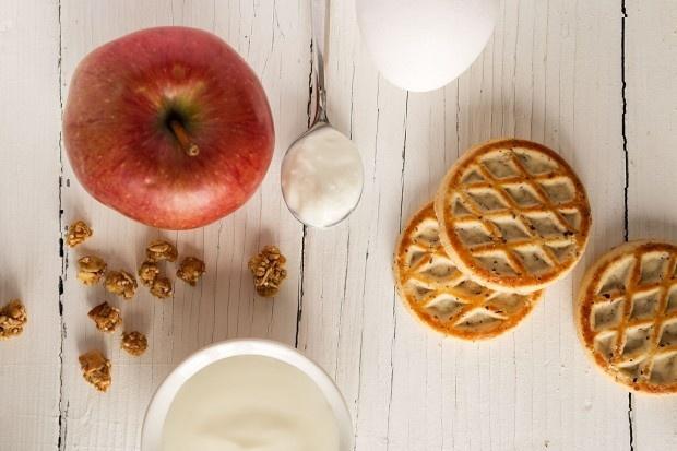 Zutaten für Apfel-Quark-Tartelettes