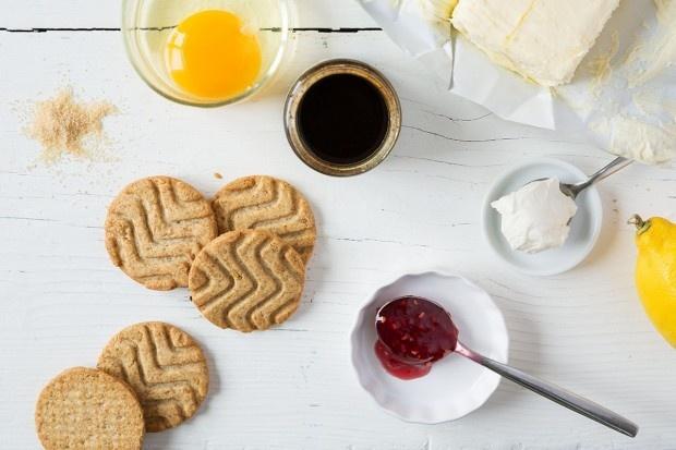 Zutaten für Cheesecake New York Style