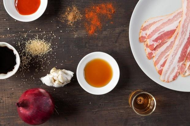 Zutaten für Bacon Jam