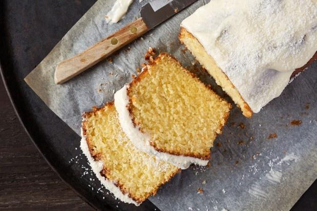 Zitronengras-Cake mit Kokos-Glasur