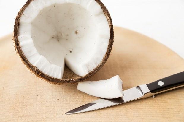 Fruchtfleisch der Kokosnuss