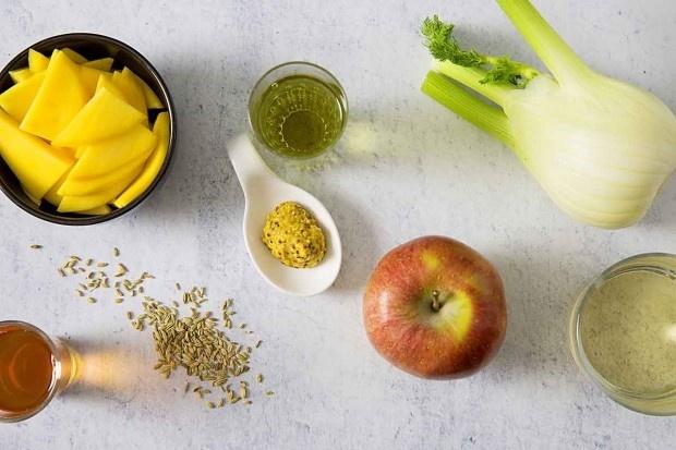 Zutaten für Fenchel-Pickles-Salat