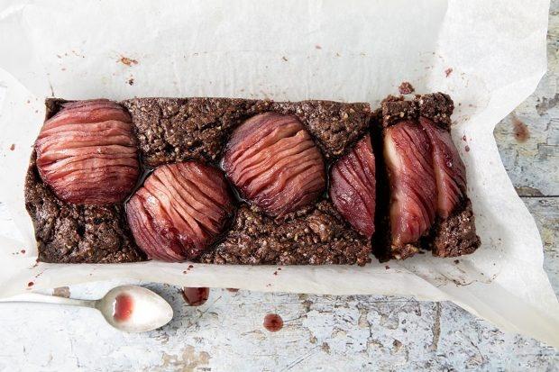 Traubensaft-Apfel-Schokoladencake