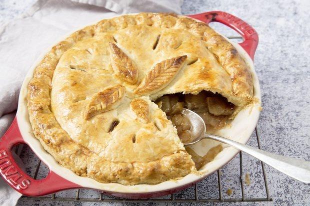 Apple Pie mit Zimt und Vanille
