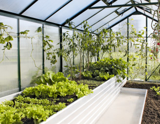 Hochbeete für Kräuter und Gemüse (Foto: epr/Wama