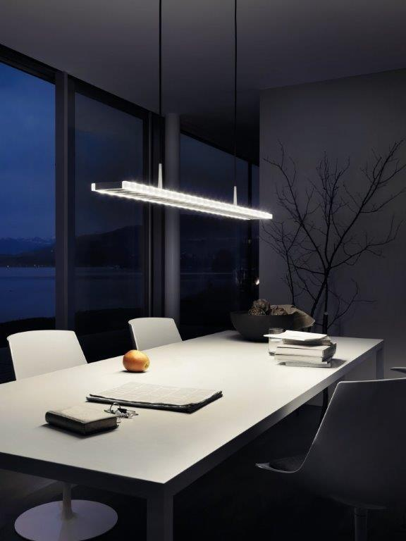 led designleuchten wohnen. Black Bedroom Furniture Sets. Home Design Ideas