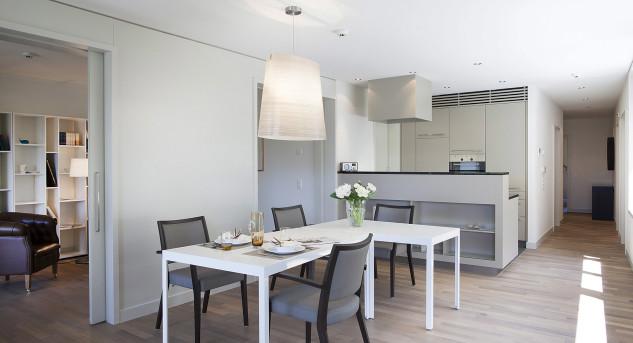 Seniorenresidenzen bieten mittlerweile Wohnungen, die höchsten Ansprüchen genügen. Bild © Parkresidenz Meilen