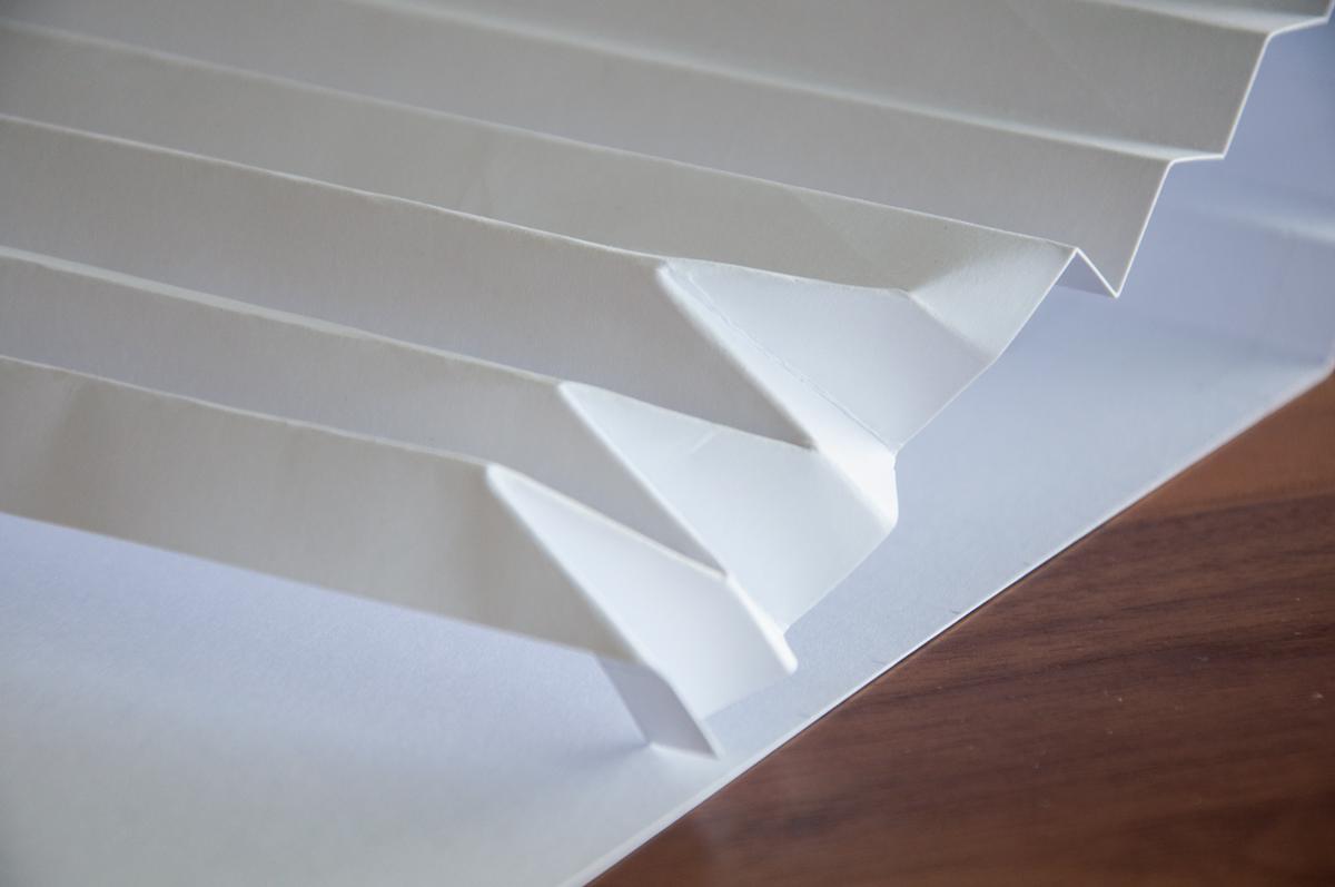 Brief Falten Nach Innen Aussen : Origami vase falten do it yourself homegate