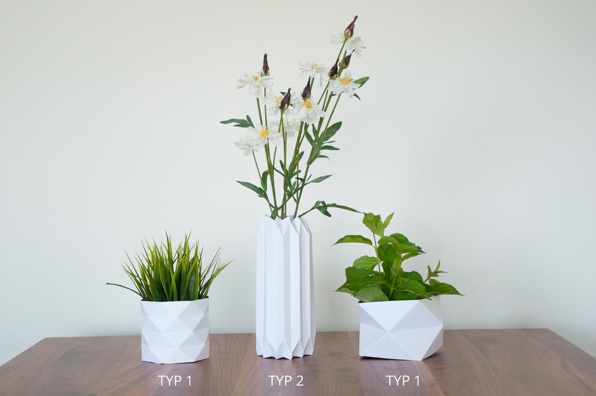 DIY Origami Vase #3 - Love Decorations | 797x1200