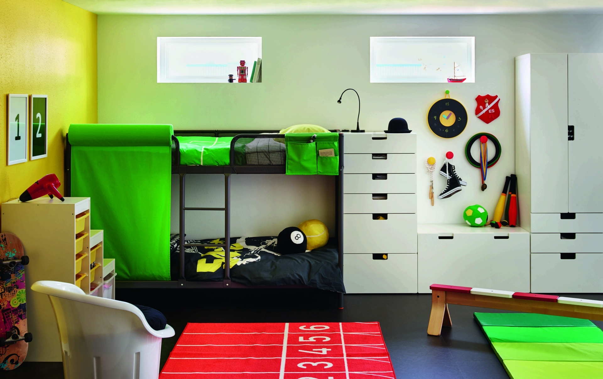 wie richte ich ein kinderzimmer ein. Black Bedroom Furniture Sets. Home Design Ideas