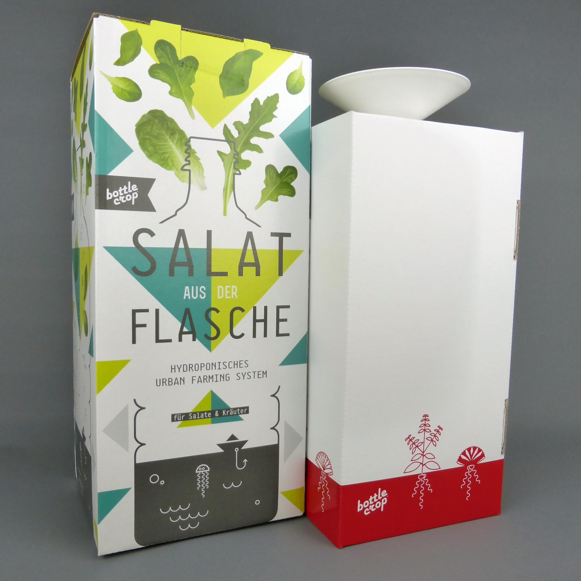 bottlecrop salate und kr uter aus der flasche ziehen. Black Bedroom Furniture Sets. Home Design Ideas