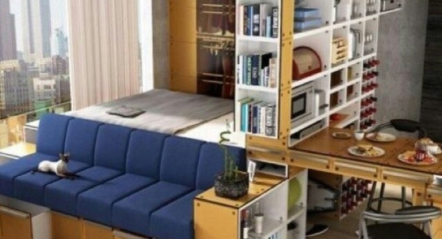 Symbolbild: Small Space Living IKEA (Quelle: slimpro.co)